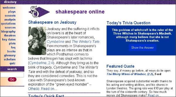 http://www.shakespeare-online.com/