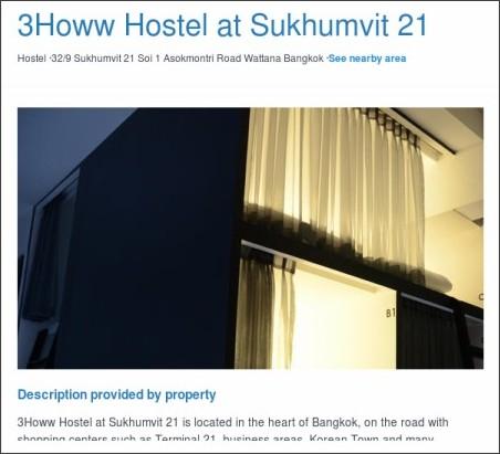 http://www.lonelyplanet.com/thailand/bangkok/hotels/3howw-hostel-at-sukhumvit-21