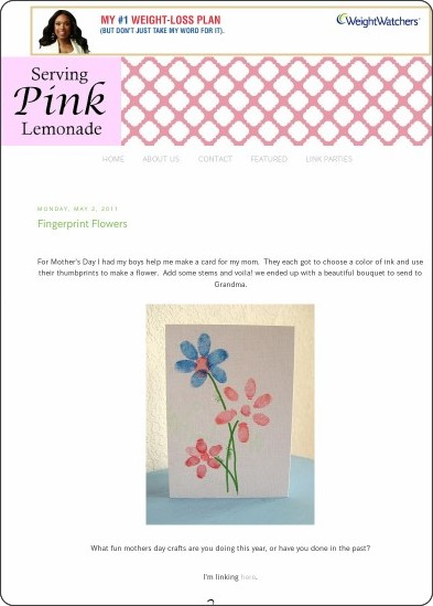 http://servingpinklemonade.blogspot.it/2011/05/fingerprint-flowers.html