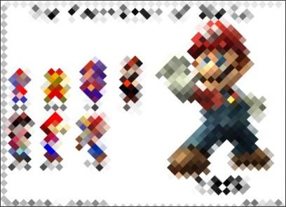 http://www.geekstir.com/evolutionofmario.html?category=gaming/the-evolution-of-mario/
