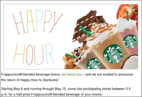 http://www.starbucks.com/blog/happy-hour-returns/1005
