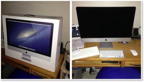 http://www.macrumors.com/2012/12/12/first-27-inch-imac-deliveries-now-arriving/