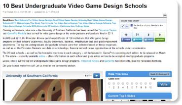 how to get to top undergraduate schools