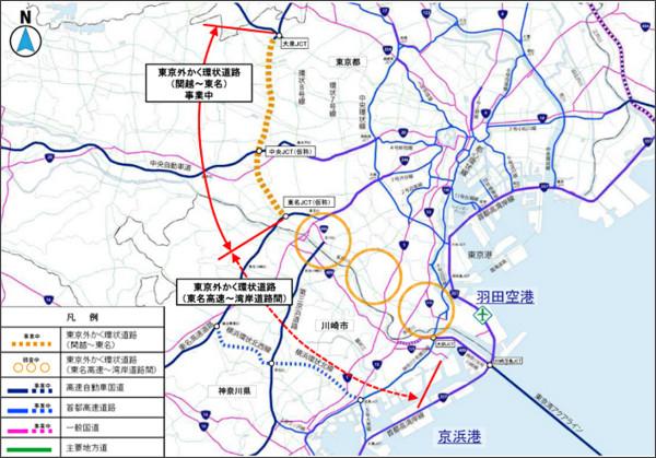 外環道(東京区間)