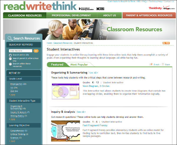 http://www.readwritethink.org/classroom-resources/student-interactives/#top-tabs