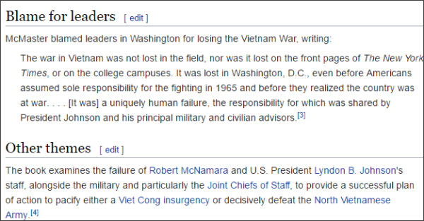 https://en.wikipedia.org/wiki/Dereliction_of_Duty_(1997_book)