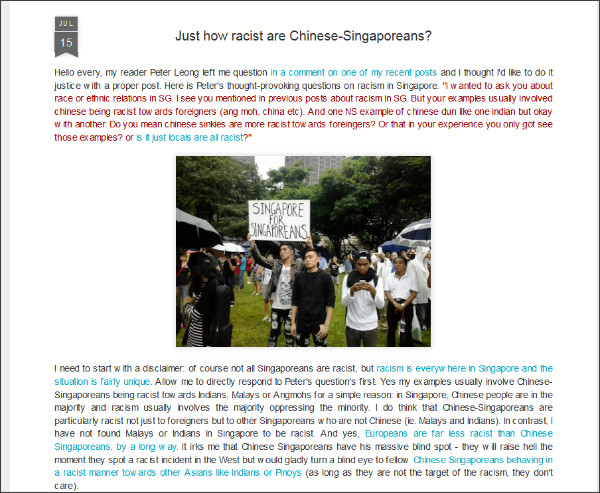 http://limpehft.blogspot.jp/2013/07/just-how-racist-are-chinese-singaporeans.html