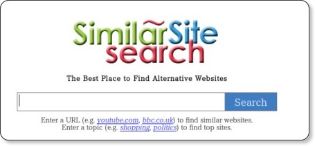 http://www.similarsitesearch.com/