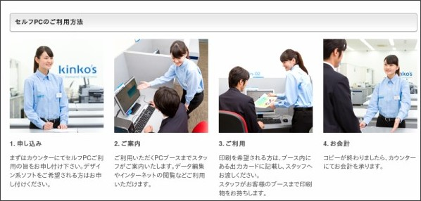 http://www.kinkos.co.jp/office/selfpc.html