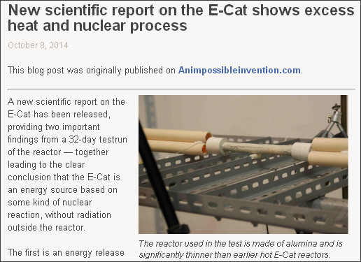 http://matslew.wordpress.com/2014/10/08/new-scientific-report-on-the-e-cat-shows-excess-heat-and-nuclear-process/