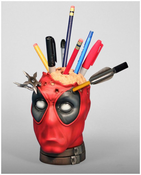 http://nerdapproved.com/approved-products/deadpool-brain-stabbin-pencil-cup/
