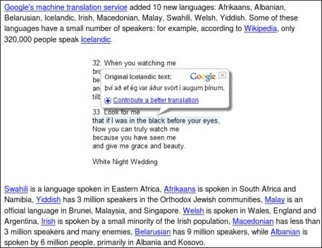 http://googlesystem.blogspot.com/2009/08/new-languages-in-google-translate.html