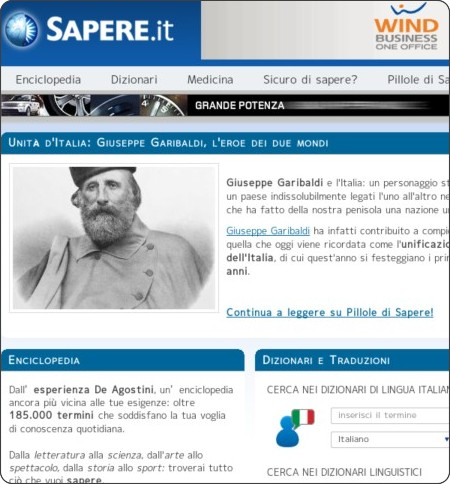 http://www.sapere.it/