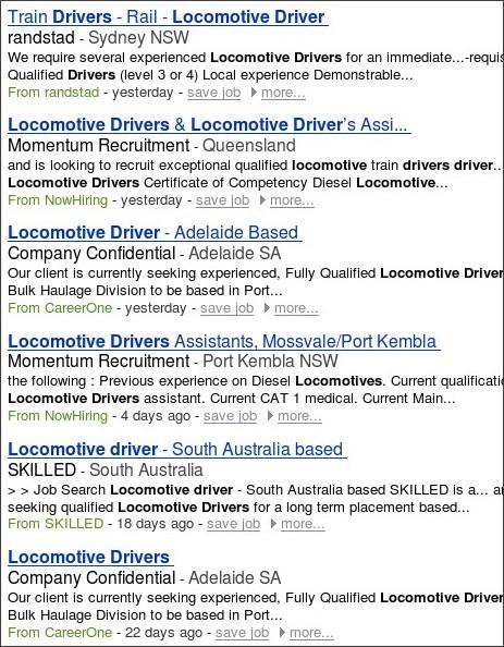 http://www.jobseeker.com.au/Locomotive-Driver-jobs