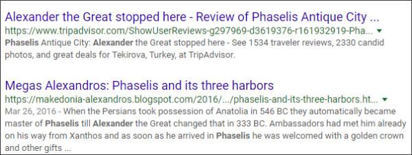 https://www.google.com/search?ei=jG3rWt7_LYGr8APil46wAQ&q=Phaselis+Alexander&oq=Phaselis+Alexander&gs_l=psy-ab.3...2070.7106.0.7830.10.10.0.0.0.0.180.1472.0j10.10.0....0...1c..64.psy-ab..0.7.1038...0j0i67k1j0i22i30k1j0i22i10i30k1j33i160k1.0.5BspNBJ95MI
