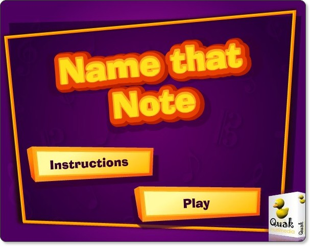 http://www.teachingideas.co.uk/music/namethatnote.htm