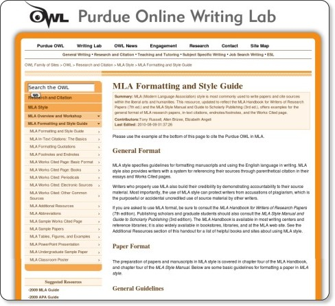 apa thesis citation owl Formatting for theses, the purdue polytechnic institute has adopted the apa, parenthetical citation format as implemented by purdue university as the format for theses and dissertations.