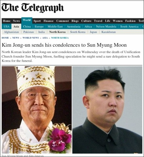 http://www.telegraph.co.uk/news/worldnews/asia/northkorea/9521747/Kim-Jong-un-sends-his-condolences-to-Sun-Myung-Moon.html