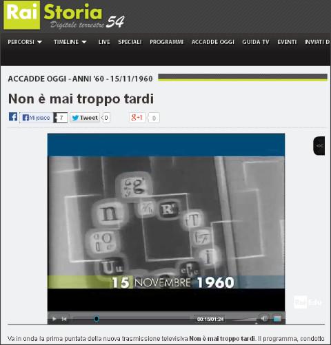 http://www.raistoria.rai.it/articoli/non-%C3%A8-mai-troppo-tardi/11411/default.aspx