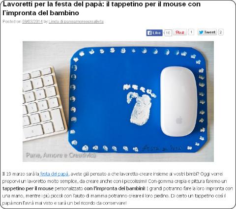 http://blog.funlab.it/2014/03/lavoretti-per-la-festa-del-papa-il-tappetino-per-il-mouse-con-limpronta-del-bambino/