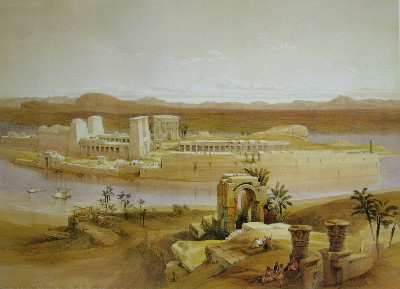 http://upload.wikimedia.org/wikipedia/commons/d/d8/David_Roberts_Temple_Island_Philae.jpg