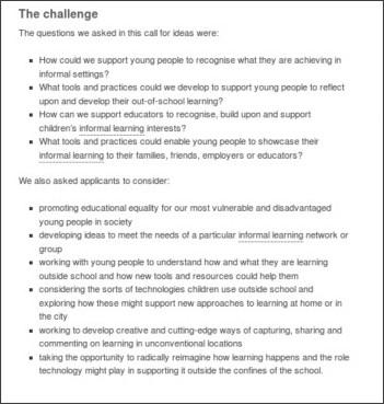 http://www.futurelab.org.uk/projects/informal-learning-ideas
