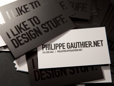 http://creattica.com/business-cards/philippe-gauthier-graphic-designer/30951