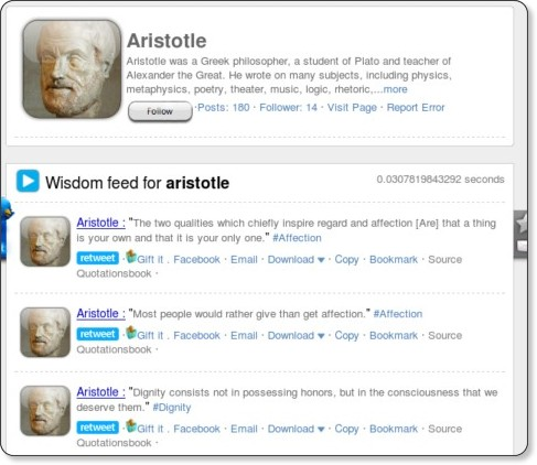 http://www.iwise.com/search.php?q=aristotle&x=30&y=6