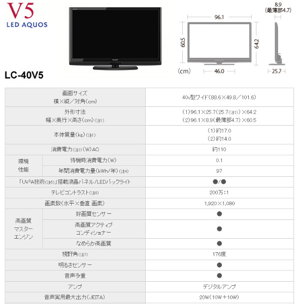 http://www.sharp.co.jp/aquos/lineup/v5/spec_40v5.html