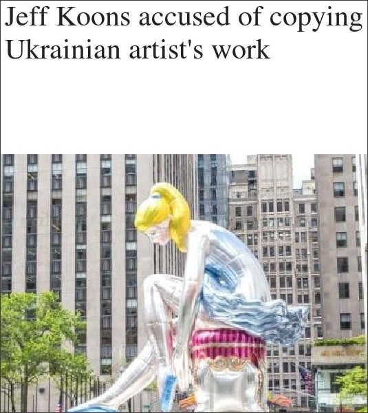 http://www.telegraph.co.uk/news/2017/05/25/jeff-koons-accused-copying-ukrainian-artists-work/