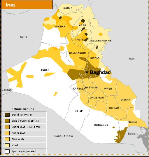 Iraq Afghanistan International Politics ResearchGuides at – Map of Iraq Provinces