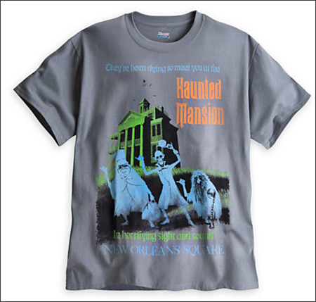 http://www.disneystore.com/haunted-mansion-attraction-poster-tee-for-adults-disneyland-limited-avail/mp/1364766/1000228/