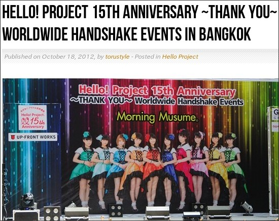 http://www.jpopreview.com/hello-project-15th-anniversary-thank-you-worldwide-handshake-events-in-bangkok/