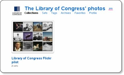 http://www.flickr.com/photos/library_of_congress/collections