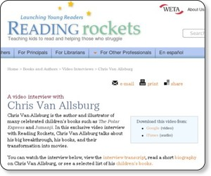 http://www.readingrockets.org/books/interviews/vanallsburg