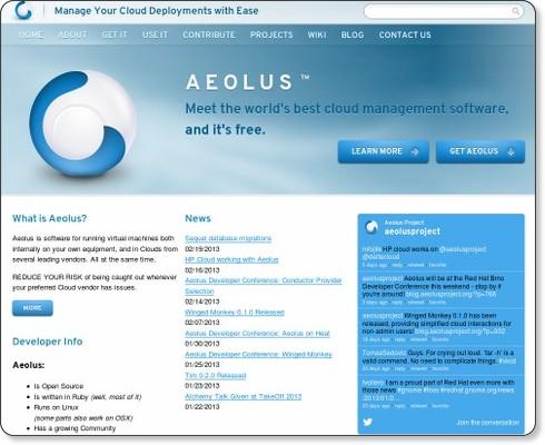 http://www.aeolusproject.org/