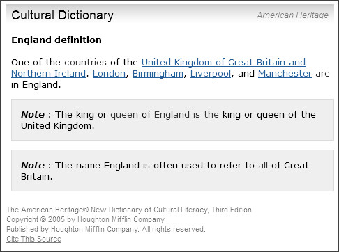http://dictionary.reference.com/browse/england