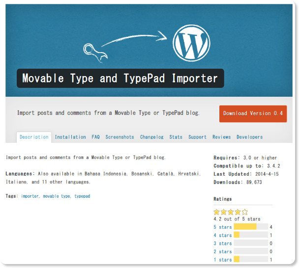 http://wordpress.org/plugins/movabletype-importer/