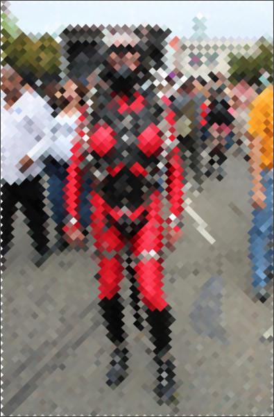 мужик в костюме садо мазо фото