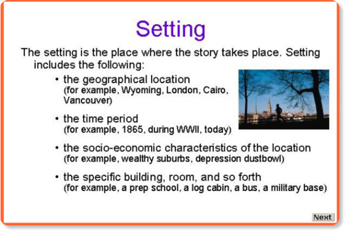 elements of photos Bloguez – Elements of Fiction Worksheet