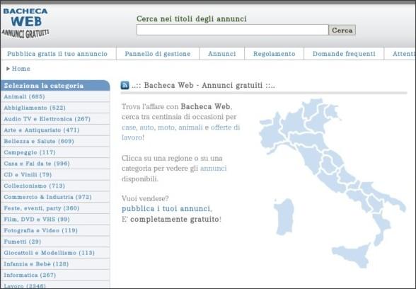 http://www.bachecaweb.eu/