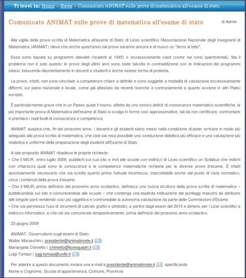 http://www.matematicamente.it/notizie/news/comunicato_animat_sulle_prove_di_matematica_all%11esame_di_stato_200906235443/