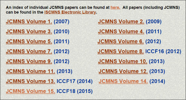 http://www.iscmns.org/CMNS/publications.htm