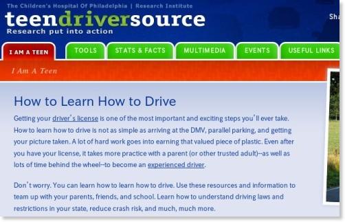 http://www.teendriversource.org/teen