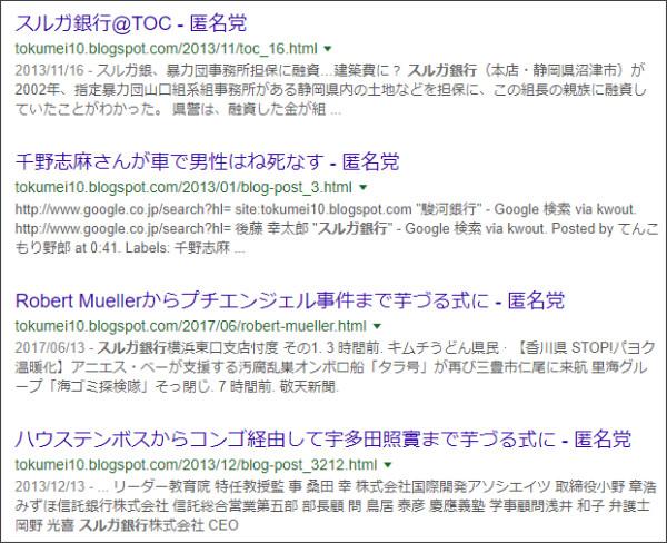 https://www.google.co.jp/search?hl=ja&q=site:tokumei10.blogspot.com+%E2%80%9D%E3%82%B9%E3%83%AB%E3%82%AC%E9%8A%80%E8%A1%8C%E2%80%9D&safe=off&cad=h