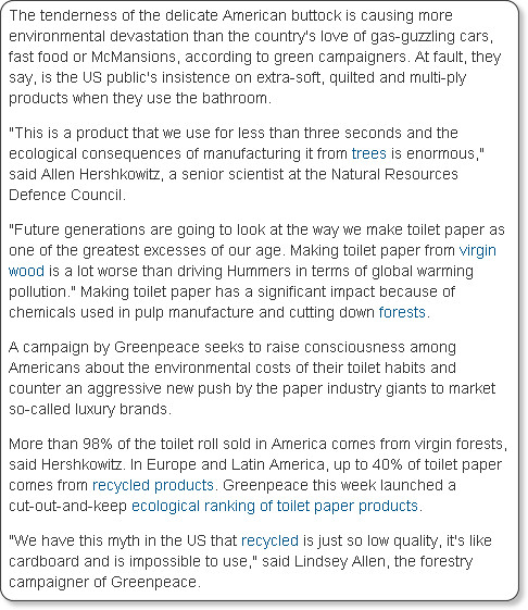 http://www.guardian.co.uk/environment/2009/feb/26/toilet-roll-america