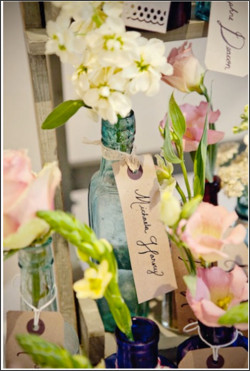 http://www.intimateweddings.com/blog/bottles-as-wedding-decor/