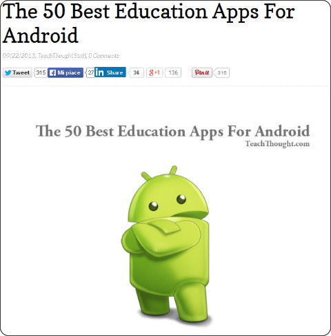 http://www.teachthought.com/technology/the-best-education-apps-for-android/
