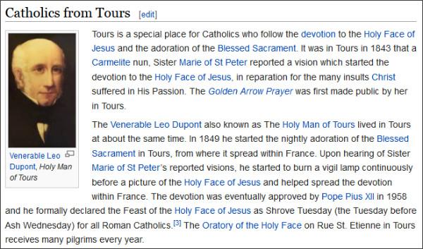http://en.wikipedia.org/wiki/Tours