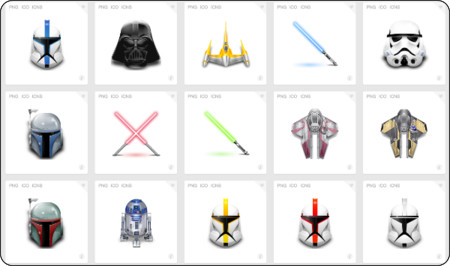 http://www.iconfinder.com/search/?q=iconset%3Astarwars